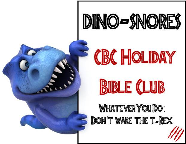 Dino-Snores Holiday Club